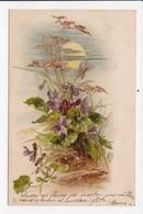 CPA ILLUSTRATION FLEURS - Fleurs