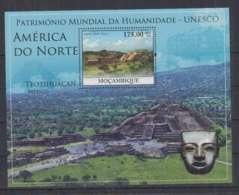 C637. Mozambique - MNH - 2010 - Architecture - America - Historie - UNESCO - Bl - Architecture