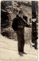 CPA Photo Militaire Suisse Du 15è Bat. En Poste à L'Occupation Des Frontières 1914/15 Edit: - - Oorlog 1914-18