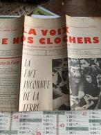 La Voix De Nos Clochers De Mars 1962 (journal Paroissial Des Secteurs D'Airaines,Allery,Fontaine,Hallencourt) - Vieux Papiers