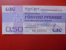 D.D.R 50 PFENNIG 1979 PEU CIRCULER (B.2) - [ 6] 1949-1990 : GDR - German Dem. Rep.