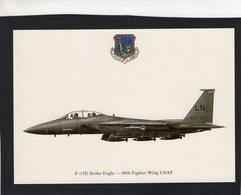 F-15E Strike Eagle  -  48th Fighter Wing USAF  -  CPM - 1946-....: Ere Moderne