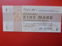 D.D.R 1 MARK 1979 PEU CIRCULER (B.2) - [ 6] 1949-1990 : GDR - German Dem. Rep.
