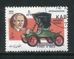 AFGHANISTAN- Y&T N°1183- Oblitéré (voiture) - Afghanistan