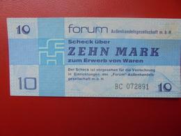 D.D.R 10 MARK 1979 PEU CIRCULER (B.2) - [ 6] 1949-1990 : GDR - German Dem. Rep.