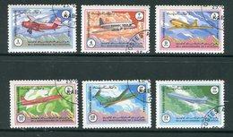 AFGHANISTAN- Y&T N°1175 à 1180- Oblitérés (avions) - Afghanistan