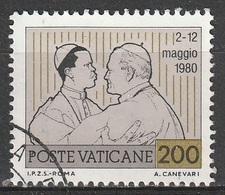 Vaticano 1981 - Viaggi Nel Mondo Di Giovanni Paolo II - Lire 200 - Vatican