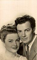 CORNEL WILDE Y ANNE BAXTER - Actores