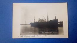 """Carte Photo De Bordeaux - Bateau Cargo """"Le Sierentz"""" - Marine Marchande - Bordeaux"""