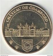 Monnaie De Paris 41. Chambord - Château Armoiries 2012 - Monnaie De Paris