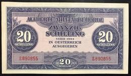 Austria 20 SCHILLING 1944 Allied Military P 107  Lotto 2542 - Austria