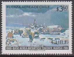 Cile Chile - Air Force Set MNH - Militaria