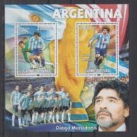 V637. Guine-Bissau MNH - 2010 - Sport - Football - Diego Maradona - Timbres