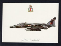 Jaguar GR.1A  -  41 Squadron RAF   -  CPM - 1946-....: Ere Moderne