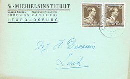 PK Publicitaire LEOPOLDSBURG 1959 - St.- MICHIELSINSTITUUT - Lagerie School - Broders Van Liefde - Leopoldsburg