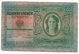 Austria 100 Kronen 1913 - Oostenrijk