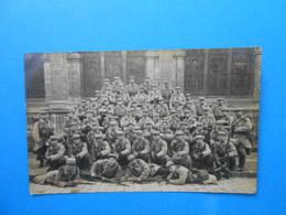 27 ) Les Andelys - Carte Photo - 403 ém RI - 1er Bataillon : 3ém Compagnie  : Année 1915 - Les Andelys