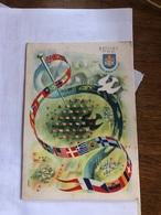 Carte Postale Du Jamboree De La Paix 1947 Avec Un Timbre Du Jamboree - Movimiento Scout