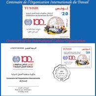 Tunisie 2019- Centenaire De L'organisation Internationale Du Travail Set(1v)+FDC - Tunisia