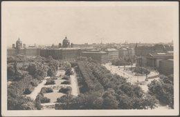 Blick Vom Burgtheater Gegen Volksgarten Und Parlament, Wien, C.1910s - Kilophot Foto-AK - Wien Mitte