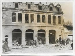 75012 CPA  PHOTO CARTE RARE BOMBARDEMENT ALLEMAND POSTE NATIVITE  SAPEURS POMPIERS 29/03/1944  N022 - District 12
