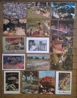 Lot De 28 Cartes Postales / Marchés De L'île De La Réunion - La Réunion
