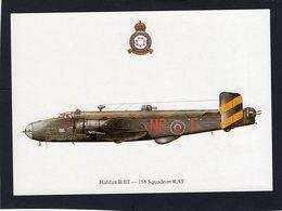 Halifax B.III  -  158 Squadron RAF   -  CPM - 1939-1945: 2ème Guerre