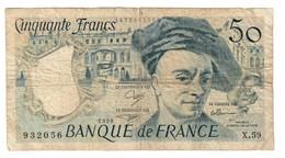 France 50 Francs 1990 - 1962-1997 ''Francs''