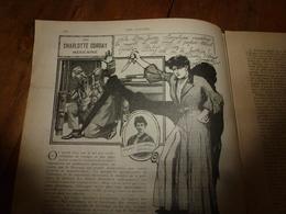 1907  NOS LOISIRS:Couv. Fraipont;La Charlotte Corday Mexicaine-Andrea Villarreal Gonzalez;Clovis Fremaux Le Marcheur;etc - Livres, BD, Revues