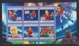 J244. Guinea - MNH - 2010 - Sport - Football - World Cup 2010 - Final - Timbres