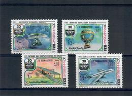 SOMALIA 1977 - 30 ANNI ICAO - MEZZI DI TRASPORTO    - MNH ** - Somalia (1960-...)