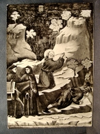 (FG.O56) GIOTTO: SAN FRANCESCO FA SCATURIRE UNA SORGENTE D'ACQUA (ASSISI) Viaggiata 1964 - Quadri, Vetrate E Statue
