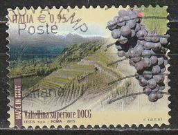 Italia 2015 - 0,95 Cent. Made In Italy - Wines DOCG Valtellina Superiore - 6. 1946-.. Repubblica