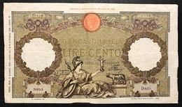 100 Lire Roma Guerriera Fascio Roma 11 06 1942 Forellini Bb   LOTTO 2436 - 100 Lire