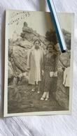 1933 TARJETA POSTAL CHILE SANTIAGO VALPARAISO POSTCARD CARD POSTKARTE CARTE POSTALE PHOTO WOMAN WOMEN UNIVERSAL CORREOS - Souvenir De...