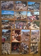 Lot De 17 Cartes Postales / Marchés De HAÏTI - Haiti