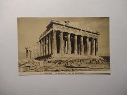 Athènes -  Le Parthénon Vue De Nord - Ouest   (5296) - Grèce
