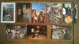 Lot De 10 Cartes Postales / Marché Musique Danse GUYANE - Guyane