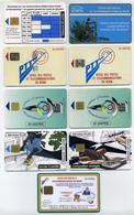 Lot De 9 Télécartes Béninoises Utilisées Différentes. Voir 2 Images. Bénin Benin (ex-Dahomey) - Benin