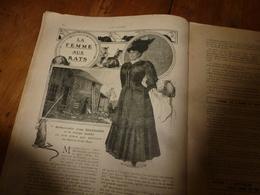 1908 NOS LOISIRS :Dessin Poulbot;La Femme Aux Rats (Irma Brandaner);Caruso;Civilité Des Marocains;Il à Mangé Du Rat ;etc - Livres, BD, Revues