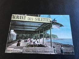 2871 - CARQUEIRANNE Les Salettes, Bords De Mer Et Restaurant - Carqueiranne