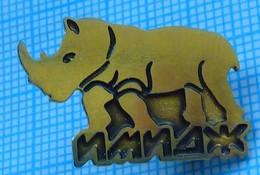 UKRAINE / Badge,pin / Fauna. Rhinoceros. Firm IMAGE. Kyiv. - Animals