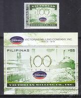 Filippine Philippines Philippinen Pilipinas 2019 Victorias Mill Centenary Set + SS - MNH** (see Photo) - Filippine