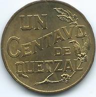 Guatemala - 1944 - 1 Centavo - KM251 - Guatemala
