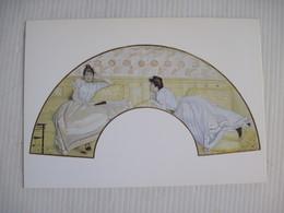 CPSM Projet D'éventail Vers 1888 Jaques Emile Blanche    TBE - Peintures & Tableaux