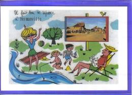 Carte Postale 14.  Hermanville   Pêche à La Plage Très Beau Plan - France