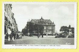 * Boulogne Sur Mer (Dép 62 - Pas De Calais - France) * (Edition Fauchois Béthune, Nr 47) Place Frédéric Sauvage, Poste - Boulogne Sur Mer
