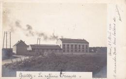 QUESSY ,,carte Photo ,, La Raffinerie FRANCOIS - France