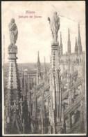 MILANO Dettaglio Del Duomo Sent 1904 To France - Milano (Milan)