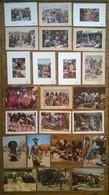 Lot De 23 Cartes Postales / Danses Marchés Musique AFRIQUE / TCHAD Dont Alain Denis - Tchad